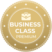 bom business class badge
